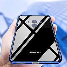 Coque Ultra Fine TPU Souple Transparente T19 pour Huawei Mate 10 Bleu