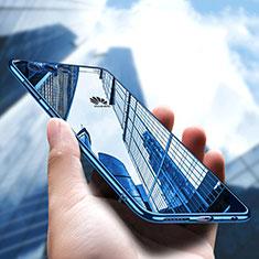 Coque Ultra Fine TPU Souple Transparente U05 pour Huawei P10 Bleu