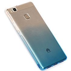 Coque Ultra Fine Transparente Souple Degrade G01 pour Huawei G9 Lite Bleu