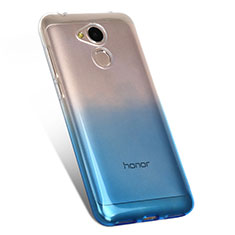 Coque Ultra Fine Transparente Souple Degrade G01 pour Huawei Honor 6A Bleu
