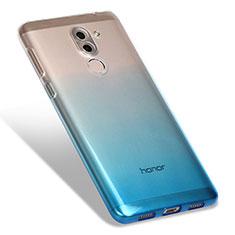 Coque Ultra Fine Transparente Souple Degrade G01 pour Huawei Honor 6X Pro Bleu