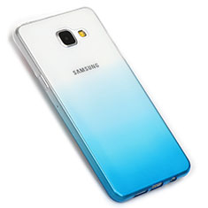 Coque Ultra Fine Transparente Souple Degrade G01 pour Samsung Galaxy A5 (2016) SM-A510F Bleu