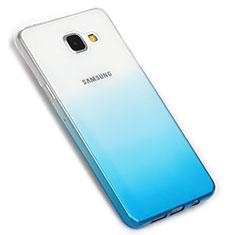 Coque Ultra Fine Transparente Souple Degrade G01 pour Samsung Galaxy A5 (2016) SM-A510F Bleu