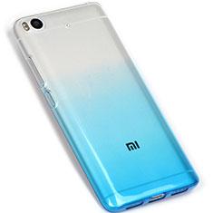 Coque Ultra Fine Transparente Souple Degrade G01 pour Xiaomi Mi 5S 4G Bleu