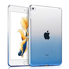 Coque Ultra Fine Transparente Souple Degrade pour Apple iPad Air 2 Bleu