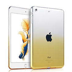 Coque Ultra Fine Transparente Souple Degrade pour Apple iPad Air Jaune