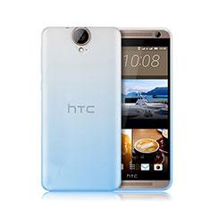 Coque Ultra Fine Transparente Souple Degrade pour HTC One E9 Plus Bleu