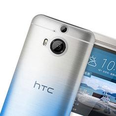 Coque Ultra Fine Transparente Souple Degrade pour HTC One M9 Plus Bleu