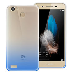 Coque Ultra Fine Transparente Souple Degrade pour Huawei Enjoy 5S Bleu