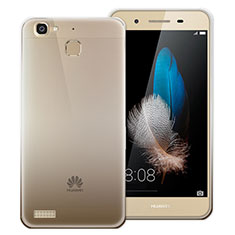 Coque Ultra Fine Transparente Souple Degrade pour Huawei Enjoy 5S Gris