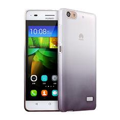 Coque Ultra Fine Transparente Souple Degrade pour Huawei G Play Mini Gris