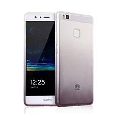 Coque Ultra Fine Transparente Souple Degrade pour Huawei G9 Lite Gris