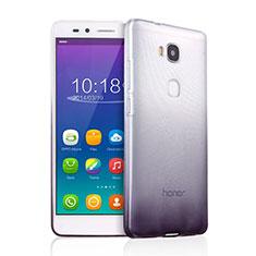 Coque Ultra Fine Transparente Souple Degrade pour Huawei GR5 Gris