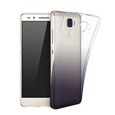 Coque Ultra Fine Transparente Souple Degrade pour Huawei GR5 Mini Noir