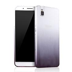 Coque Ultra Fine Transparente Souple Degrade pour Huawei Honor 7i shot X Gris