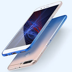 Coque Ultra Fine Transparente Souple Degrade pour Huawei Honor 8 Pro Bleu