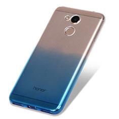 Coque Ultra Fine Transparente Souple Degrade pour Huawei Honor V9 Play Bleu