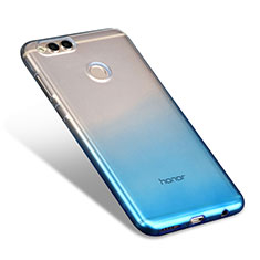 Coque Ultra Fine Transparente Souple Degrade pour Huawei Honor View 10 Bleu Ciel