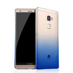 Coque Ultra Fine Transparente Souple Degrade pour Huawei Mate S Bleu