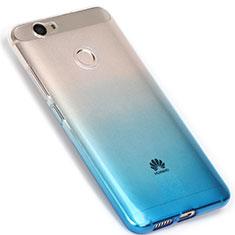 Coque Ultra Fine Transparente Souple Degrade pour Huawei Nova Bleu