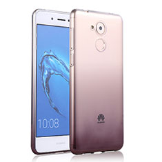 Coque Ultra Fine Transparente Souple Degrade pour Huawei Nova Smart Gris