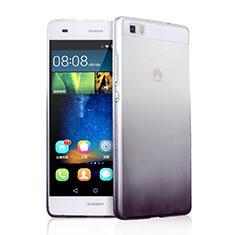 Coque Ultra Fine Transparente Souple Degrade pour Huawei P8 Lite Gris