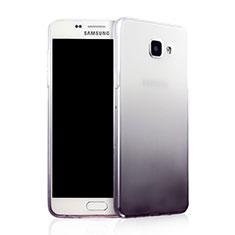 Coque Ultra Fine Transparente Souple Degrade pour Samsung Galaxy A7 (2016) A7100 Gris