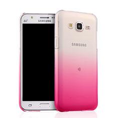 Coque Ultra Fine Transparente Souple Degrade pour Samsung Galaxy J5 SM-J500F Rose