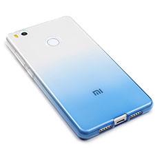 Coque Ultra Fine Transparente Souple Degrade pour Xiaomi Mi 4S Bleu