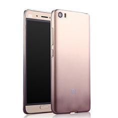 Coque Ultra Fine Transparente Souple Degrade pour Xiaomi Mi 5 Gris