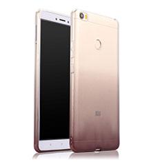 Coque Ultra Fine Transparente Souple Degrade pour Xiaomi Mi Max Gris