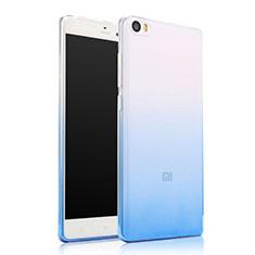 Coque Ultra Fine Transparente Souple Degrade pour Xiaomi Mi Note Bleu