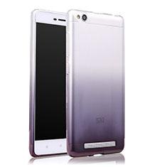 Coque Ultra Fine Transparente Souple Degrade pour Xiaomi Redmi 3 Gris