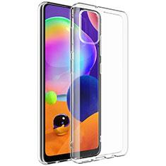 Coque Ultra Slim Silicone Souple Transparente G01 pour Samsung Galaxy A31 Clair