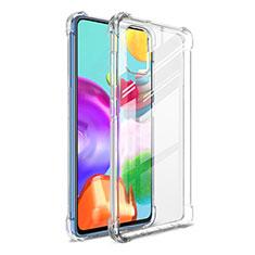 Coque Ultra Slim Silicone Souple Transparente G01 pour Samsung Galaxy A41 Clair