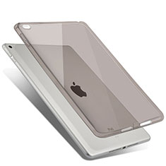 Coque Ultra Slim Silicone Souple Transparente pour Apple iPad Air 2 Gris