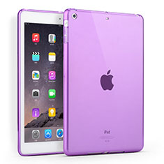 Coque Ultra Slim Silicone Souple Transparente pour Apple iPad Air Violet