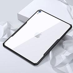 Coque Ultra Slim Silicone Souple Transparente pour Apple iPad Pro 11 (2018) Noir