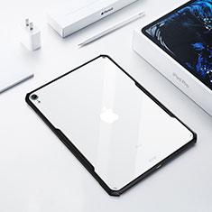 Coque Ultra Slim Silicone Souple Transparente pour Apple iPad Pro 12.9 (2018) Noir