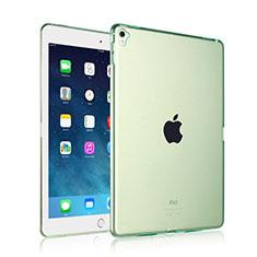 Coque Ultra Slim Silicone Souple Transparente pour Apple iPad Pro 9.7 Vert