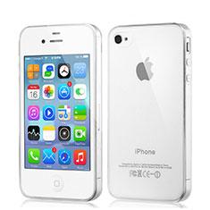Coque Ultra Slim Silicone Souple Transparente pour Apple iPhone 4 Clair