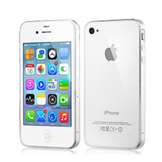Coque Ultra Slim Silicone Souple Transparente pour Apple iPhone 4S Clair