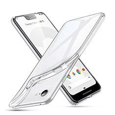 Coque Ultra Slim Silicone Souple Transparente pour Google Pixel 3 XL Clair