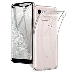 Coque Ultra Slim Silicone Souple Transparente pour Google Pixel 3a Clair
