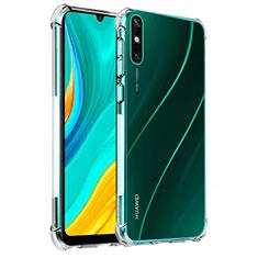 Coque Ultra Slim Silicone Souple Transparente pour Huawei Enjoy 10e Clair