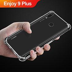 Coque Ultra Slim Silicone Souple Transparente pour Huawei Enjoy 9 Plus Clair