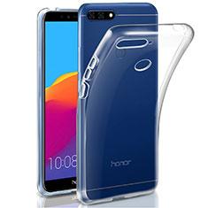 Coque Ultra Slim Silicone Souple Transparente pour Huawei Honor 7A Clair