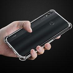 Coque Ultra Slim Silicone Souple Transparente pour Huawei Honor 8X Max Clair