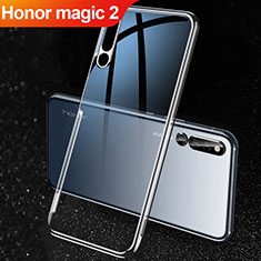 Coque Ultra Slim Silicone Souple Transparente pour Huawei Honor Magic 2 Noir
