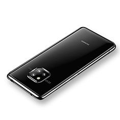 Coque Ultra Slim Silicone Souple Transparente pour Huawei Mate 20 Pro Noir